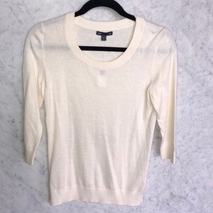 GAP cream sweater